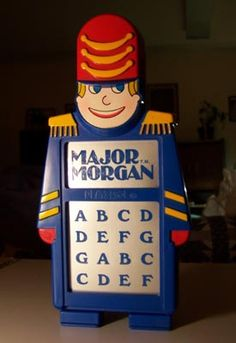 Major Morgan Electronic Organ.  One of the best kids toys ever! I remember playing with this toy at Grandma and Grandpa's house!!