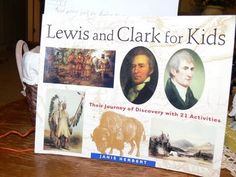 For Kids Unit Studies. Each study contains a book written about the subject and 21 activities that tie into what you are reading. One of our first to use was Lewis and Clark for Kids: Their Journey of Discovery with 21 Activities (For Kids series) by Janis Herbert.