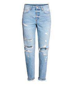 H & M - Pantalón de chándal hm negro Viscosa