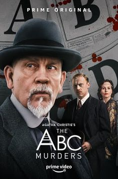 Trailers, clip, featurette, images and poster for the miniseries THE ABC MURDERS starring John Malkovich and Rupert Grint. Tv Series To Watch, Series Movies, Film Movie, Movies To Watch, Good Movies, Movies And Tv Shows, John Malkovich, Agatha Christie, Andrew Buchan