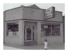 Sipes Drugstore, Terre Haute, IN - our hangout
