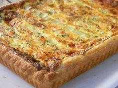 Recette de Quiche aux asperges blanches de Sologne et aux crevettes : la recette facile