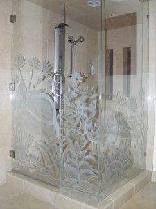 etched glass? I like this concept, but not the actual design