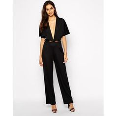 4c201af7fb6 Oh My Love Kimono Sleeve Belted Jumpsuit with Wide Leg Oh My Love