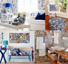 { Diario de uma Amadora }: Fique Trend: Como/Onde usar Estampa de Azulejo Português