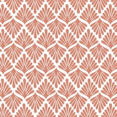 Hawthorne Threads - Zambezi - Fronds in Desert Rose