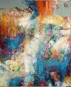 Beverly McLarty, Arkansas artist, mixed media