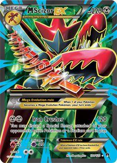 M Scizor-EX | XY—BREAKpoint | TCG Card Database | Pokemon.com