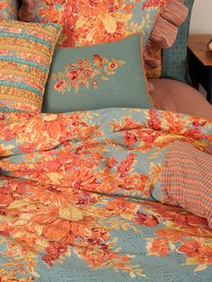 In Full Bloom King Duvet | Bedding, Quilts & Duvets :Beautiful Designs by April Cornell