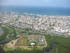 Parque Central y Santurce, San Juan, PR.