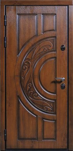 Best Exterior Door Ideas {our front door makeover} Best exterior door ideas. I love simple and pretty front doors. In a couple months when the weather warms up, we are replacing our front door and adding a wider roof over the Wooden Front Door Design, Wood Front Doors, Modern Front Door, Exterior Front Doors, The Doors, Entrance Doors, Wooden Doors, Panel Doors, Room Door Design