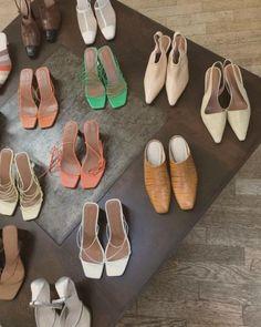 heels + mules + sandals | Julie de la Playa