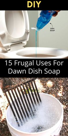 Dawn dish soap is great for washing dishes…obviously, but did you know that there's so much more you can do with this inexpensive super-product? Not only do veterinarians use it to clean animals after oil spills, but Dawn can be used as insect repellent and tool cleaner too. House Cleaning Tips, Cleaning Hacks, Diy Fluffy Slime, Diy Crafts For Girls, Diy Shower, Simple Life Hacks, Hacks Diy, Cool Diy Projects, Diy Home Improvement