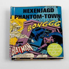 Batman Comic Portemonnaie vegan upcycling wallet made von Hunkepunk
