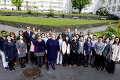 Statsministeren møttesterkt internasjonalt forskningsmiljø - Uni Research