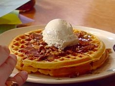 Get this all-star, easy-to-follow Sweet Potato Waffles recipe from Alton Brown