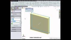 This is from my SOLIDWORKS 2014 VBA/API course, available for sale at www.video-tutorials.net. Cad Tools, Autocad Training, Solidworks Tutorial, Video Tutorials, Geometry