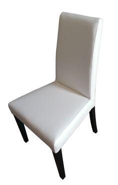 Cadeira NOVA de linhas modernas estofada nas costas e assento. Ideal para mesas de sala ou cozinhas onde se pretendam linhas modernas e contemporâneas.  Apenas 90€