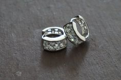 Bridal earringsBridal Marquis studs Crystal by TamarAndTalya