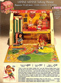 Image detail for -1960s ad for Liddle Kiddle house - Found in Mom's Basement