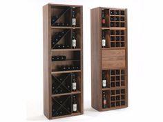 Buy online Cru By riva solid wood bottle rack design C. Wine Shelves, Wine Storage, Home Wine Cellars, Wine Cellar Design, Muebles Living, Bar Cart Decor, Wine Display, Wine Cabinets, Bar Furniture