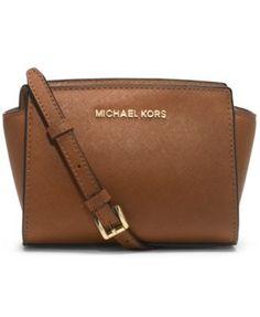 MICHAEL Michael Kors Selma Mini Messenger Bag | macys.com