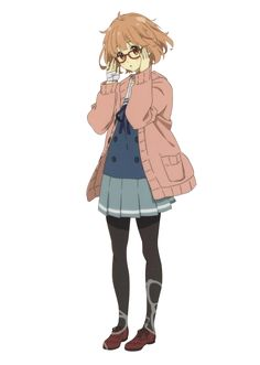 I ended up masking this for a banner but it wasn't needed anymore, so here u guys go, mirai version full body! I do not own this art, I just. Yandere Simulator Memes, Mirai Kuriyama, Beyond The Boundary, Kyoto Animation, Full Body, Deviantart, Drawings, Fictional Characters, Artsy Fartsy
