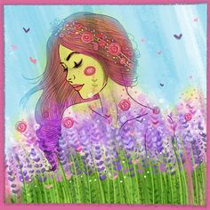 Part of the Whole #artist #beauty #digitalart #digitalpainting #disegno #draw #drawing #fiori #flowers #girl  #illustrated #illustration #illustrazione #nature #picoftheday #photooftheday #instaart #instagood #instalove #instadaily #art