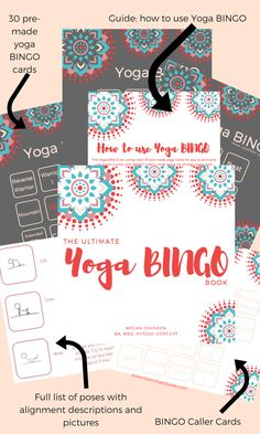 The Ultimate Yoga BINGO Book from Learning Lotuses!