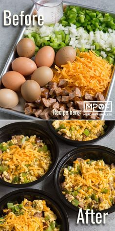 This Cajun Sausage Scramble keto breakfast meal prep recipe combines the iconic flavors of Jambalaya into a cheesy egg dish that you can enjoy anytime of day. An awesome low carb breakfast recipe! #mealprep #breakfast #recipe #keto #ketorecipes