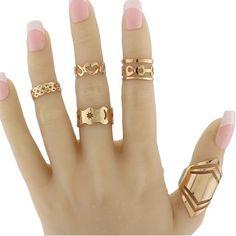 GET $50 NOW | Join RoseGal: Get YOUR $50 NOW!http://m.rosegal.com/rings/infinite-heart-geometric-pentagram-ring-737398.html?seid=7409055rg737398