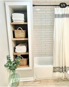 Bathroom Renos, Small Bathroom, Bathroom Ideas, Bathroom Inspo, Master Bathroom, Home Renovation, Home Remodeling, Upstairs Bathrooms, Bathroom Interior Design