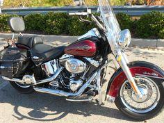 Harley Davidson Motorcycles Heritage Softail   RED/BLACK 2005 Harley-Davidson Heritage Softail in Columbia, SC