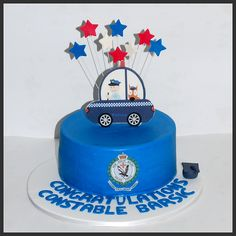 Police Car Cakes, Cake Decorating Courses, Join, Desserts, Tailgate Desserts, Deserts, Postres, Dessert, Plated Desserts
