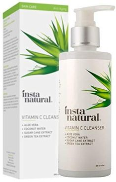 EXTREME ANTIOXIDANT BENEFITS - With potent antioxidants like Vitamin C, and natural Organic Aloe, this facial wash works for both men and women to rejuvenate the skin. All skin types will see the nourishing benefits of this professional-grade formula.