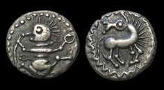 Rare Celtic 'Dancing Manikin' Coin, 65 BC - 1 ADAccording to its...