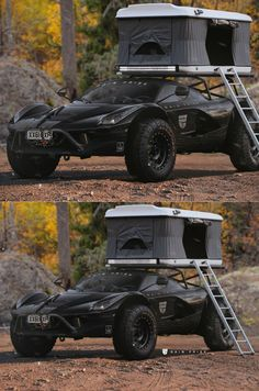 Converting LaFerrari Into A Virtual Off-Road Camper Is Our Kind Of Bonkers