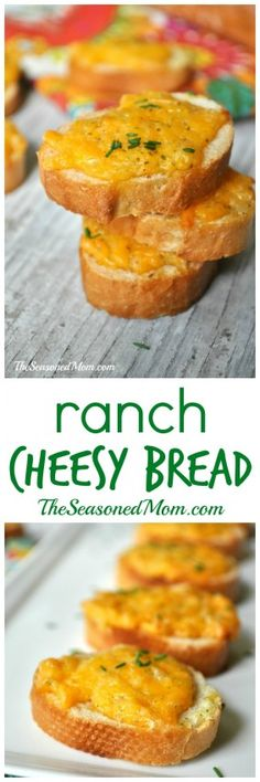 Ranch Cheesy Bread is the simplest side dish that everyone loves!