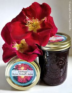 Honey Rose Petal Jam recipe - best of show in a 2010 county fair
