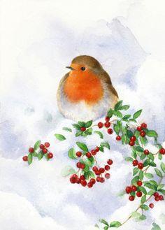Lisa Alderson - LA - Robin And Snow