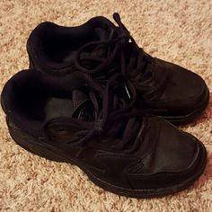 Shoes For Crews Black, non-slip tennis shoes, somewhat new, worn only few times Shoes For Crews Shoes Sneakers