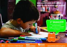 Derechos del niño - Afiche