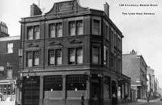 Lord High Admiral, 145 Vauxhall Bridge Road, SW1 - circa 1963 Westminster, Abandoned Places, Old Photos, Google Images, Bridge, Multi Story Building, Cinema, Lord, Derelict Places