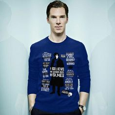 Benedict Cumberbatch. Photo-shopped, I think, but coll anyway.