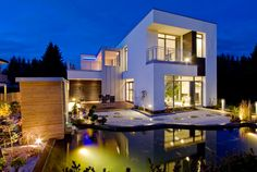 Modern Swedish architecture... So many great houses!