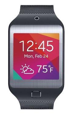 Samsung Gear 2 Neo Smartwatch  Charcoal Black (Certified Refurbished)