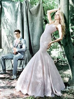 bridal gown #wedding  {i wish i could stand like this in real life...waiting in line, talking to clients, lol}
