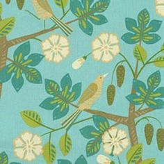 Waverly Small Talk Mint Julep Home Decorating Fabric27 x 27 repeat
