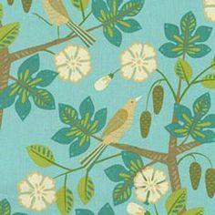 Waverly Small Talk Mint Julep Home Decorating Fabric27 x 27 repeat