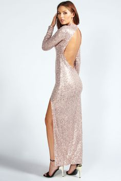 Charmaine Sequin Maxi Dress Totally want for Christmas parties this year!!!